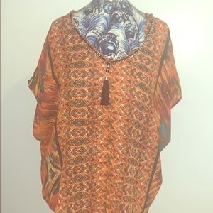 V-neck woman's shirt
